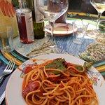 Spaghetti main course