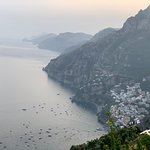 View from Santa Croce Restaurant in Nocelle, just up the road  from Positano