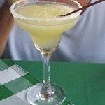 We sipped succulent Margaritas .