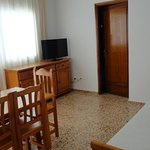 BEST PRICE The apartments are conveniently located in front of the beach! We have one and two bedroom apartments. All of them have dinning room, living room, bathroom, balcony and a fully equiped kitchen. Some have AC. The buildings' amenities are: Supermarket Cala Llonga Gift Store Press  Currency Exchange ATM Machine  To make a reservation please send an email to: apartamentoscalallonga@gmail.com, we will give you the steps to make a reservation.