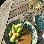 Zdjęcie Restaurant De Hoop Op d'Swarte Walvis