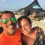 Isla Blanca.  kite trip