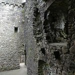 Kilchurn Castle interior