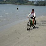 Wilds of Cambodia - riding on the beach