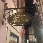 Fotografia de Trattoria al Fontanone