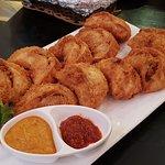 Deep fried Momos