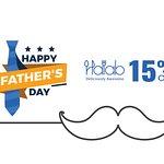 Celebrate Father's Day today at Halab KL  and enjoy 15% off , Hurry up ❤️ 👍  - 今天在Halab KL 慶祝父親節,享受15%的折扣,快點❤️👍 - احتفل بعيد الأب البوم في مطعم  حلب كوالالمبور واستمتع بخصم 15 بالمائة ❤️👍 - https://buff.ly/2EnFUuR  - #Food #Halab #Malaysia #Shawarma #Halal #عربي #مطعم  #البيت_بيتك