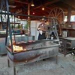 Le Mexican Lodge Swingin' Steaks Restaurant à Mexican Hat - Utah