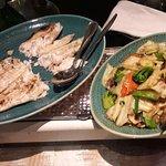 Seafood & vegetables