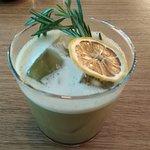 Milkman - gin, matcha, vanilla and other magic ingredients.