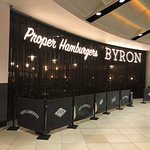 The frontage of Byron at the O2 Centre