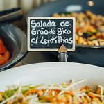 Lunch buffet at Quitéria, Monday to Friday from midday to 3pm
