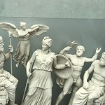 reproduction frieze from the Parthenon
