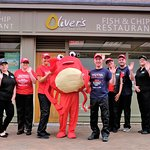 HAPPY NATIONAL FISH AND CHIP DAY 2019 WITH SOME OF THE CREW AT OLIVER'S REDCAR!