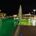 piscina e giochi d'acqua