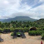 Beautiful views of the volcano.