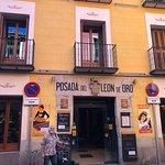 Hotel entrance on Calle Cava Baja