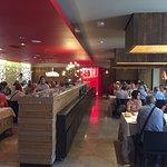 Sala del restaurante Luna Llena en el Hotel AF Pesquera