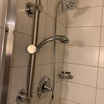 Good shower but I have trouble using the secondary remote shower head