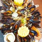 Torpilleur de fruits de mer et de poissons
