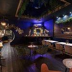 Lounge bar.