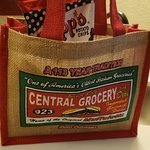 Cute lunch bag (sold separately but great souvenir).