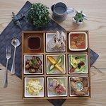 美式環遊世界9宮格套餐