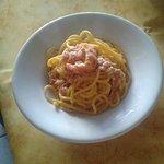 Spaghettoni fatti in casa alla carbonara