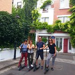 Tour on electric scooter in the real Paris, no touristic with a guide just for you.  Until 4 people
