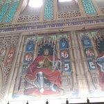 Detalle de la Sala de los Reyes