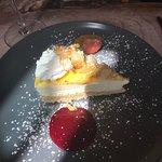 Lemon cheesecake ... delicious !
