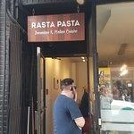 Outside view of Rasta Pasta