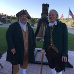 Colonial friends meet up at America's Founding Fathers to talk about the good old days (250 years ago).