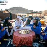 échange culturel avec les nomades