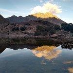 Laguna de Humantay !! (pôr no sol na montanha é lindo!)