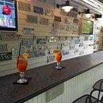 Aperol Spritz on the outside bar