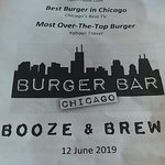 Foto de Burger Bar Chicago South Loop