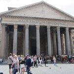Veduta esterna del Pantheon