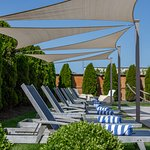 Outdoor Saltwater heated Pool open Memorial Day through Columbus Day