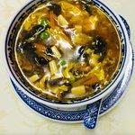 Zuppa agro piccante.