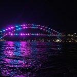 Vivid 2019, harbour bridge