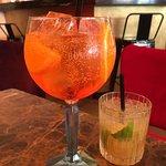 Drinks - Aperol & Caprioska