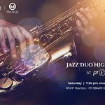 Jazz Duo Night at Prego every Saturday