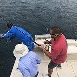 deep sea fishing trip in puerto vallarta