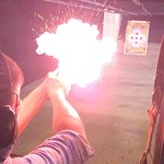 Ignition of flash pan before the gun fires