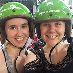 safety helmet of Saigon On Motorbike tour