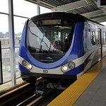 The Canada Line trains are sleek, modern, and efficient and get you where you want to go -- at least most of the time if you use the bus connections.