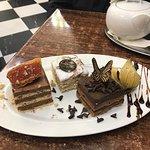 Gourmet cake selection