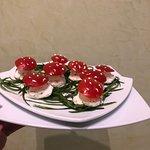 Salad mushrooms