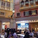 Inside the Venetian Food Court 7